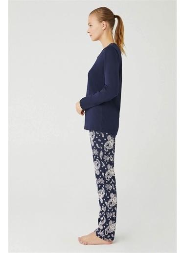 Mod Collection Kadın Pijama Takımı Lacivert